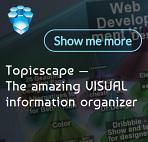 Topicscape Visual information organizer